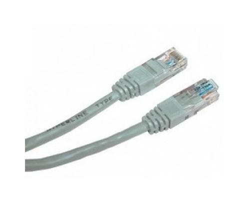 Cablexpert Патч-корд UTP PP12-15M кат.5e, 15м, литой, многожильный (серый)