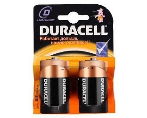 Батарейки Duracell LR20-2BL