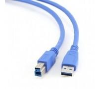 Кабель Gembird CCP-USB3-AMBM-6 3.0 PRO кабель для соед. 1.8м AM/BM позол. контакты, пакет