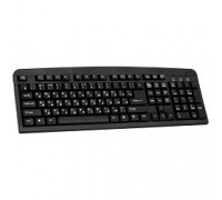 Клавиатура Defender Element HB-520 Black PS/2 45520 Клавиатура проводная, 104+3кн. управление