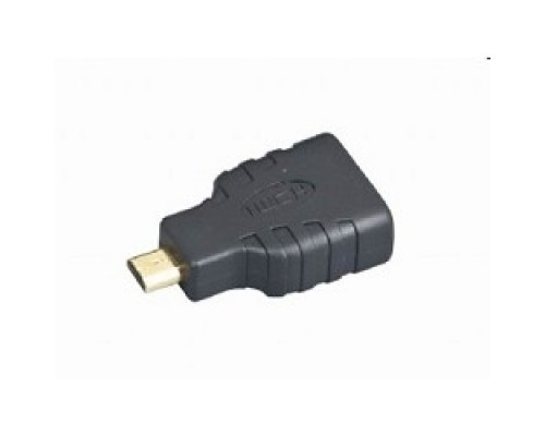 Переходник Gembird HDMI-microHDMI 19F/19M, золотые разъемы, пакет A-HDMI-FD