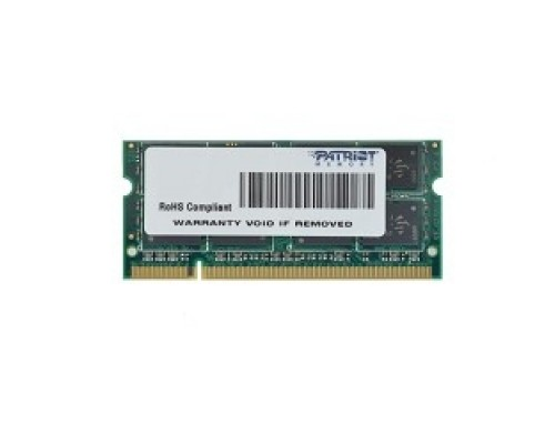 Patriot DDR2 SODIMM 2GB PSD22G8002S PC2-6400, 800MHz