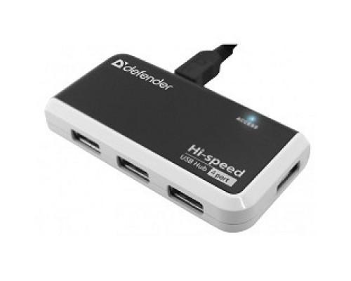Контроллер DEFENDER USB QUADRO INFIX 2.0, 4 порта, 83504