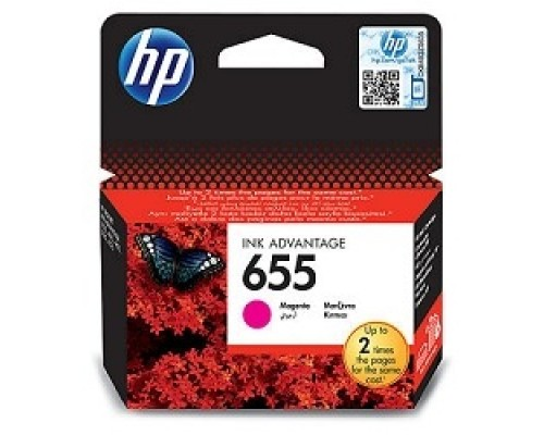 HP CZ111AE Картридж №655, Magenta DeskJet IA 3525/5525/4615/4625, Magenta