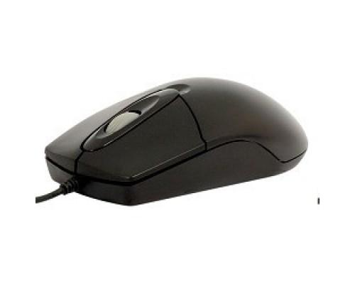 A-4Tech OP-720 (черный) PS/2 пров. опт. мышь, 2кн, 1кл-кн 517934