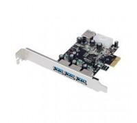 ST-Lab U750 RTL Controller ST-Lab, PCI-E x1, U- 750, 3 ext (USB3.0) + 1 int (USB3.0), LP bracket, Ret