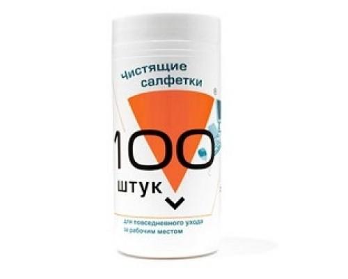 Чистящие средства Konoos KBU-100 Салфетки для комп. техники банке, шт.