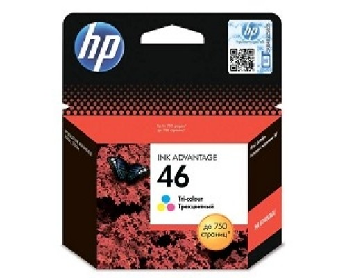 HP CZ638AE Картридж №46, Color DJ2520/2020, Color