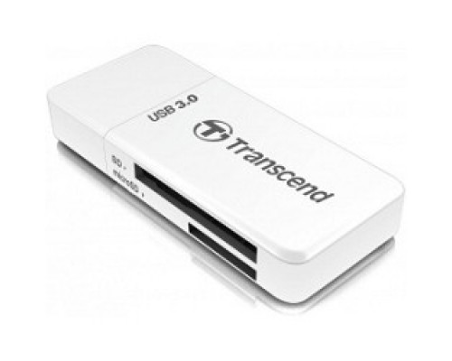 USB 3.0 Multi-Card Reader F5 All in 1 Transcend TS-RDF5W White