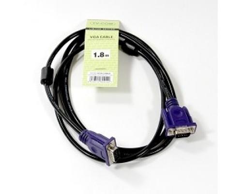 TV-COM соединительный (QCG120H-1.8M) SVGA (15M/M) 1,8m 2 фильтра 6939510844122