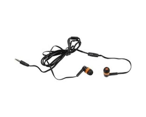 Defender Pulse 420 черный + оранжевый, вставки 63420