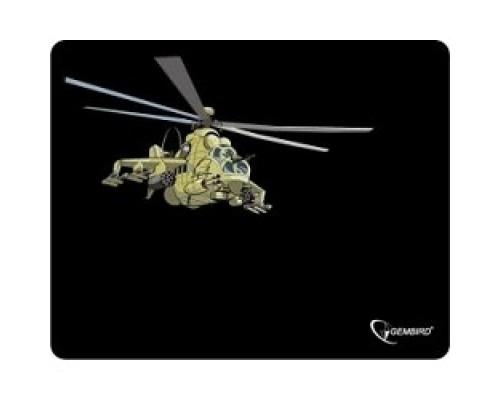 Коврики для мыши Gembird MP-GAME9, рисунок- вертолет, размеры 250*200*3мм