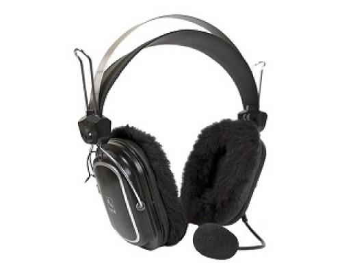 A4Tech HS-60 с микрофоном, 2.5м мониторы, черный