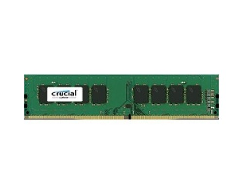 Модуль памяти Crucial DDR4 DIMM 4GB CT4G4DFS824A PC4-19200, 2400MHz