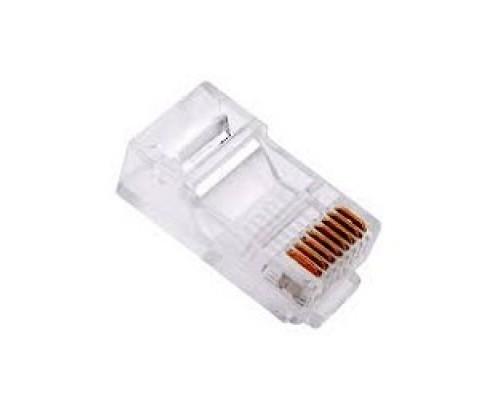 Кабель VCOM VNA2200-1/100 Коннекторы RJ-45 для UTP кабеля кат.