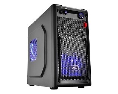 корпус Deepcool SMARTER mATX/mini-ITX, Black, без БП