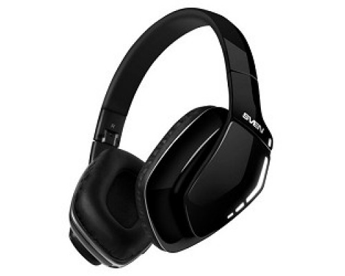 Наушники SVEN AP-B550MV черный Bluetooth 4.1, Частотный диапазон наушников, Гц 20 – 000, Чувствительность дБ 106, микрофона -58 ± 3