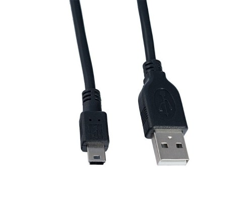 Кабель PERFEO USB2.0 A вилка - Mini 5P длина 1,8 м.