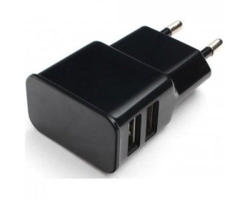 Аксессуар Cablexpert Адаптер питания 100/220V - 5V USB порта, 2.1A, черный