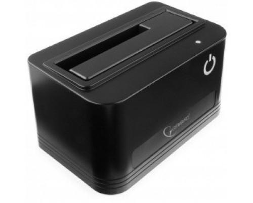 Контейнер для HDD Gembird HD32-U3S-4 Докстанция 2.5/3.5 черный, USB 3.0, SATA, HDD/SSD