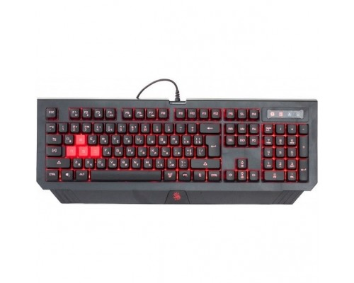 Keyboard A4Tech Bloody B125 Black USB Multimedia Gamer LED 1100985