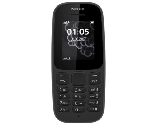 NOKIA 105 DS BLACK (2019) 16KIGB01A01