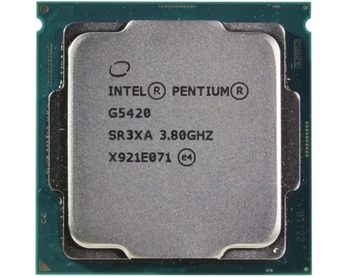 CPU Intel Pentium Gold G5420 Coffee Lake OEM 3.8ГГц, 4МБ, Socket1151v2