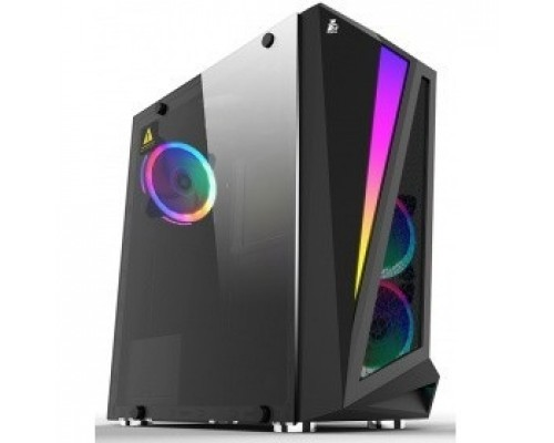 1STPLAYER R5-3R1 RAINBOW R5 / ATX, tempered glass side panel / 3x 120mm LED fans inc. / R5-3R1